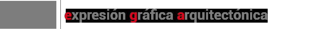 EGA- expresión gráfica – apoyo a curso de dibujo arquitectónico Logo